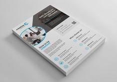 Paris Elegant Professional Business Flyer Template 001368