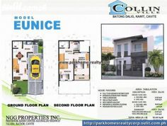 NEW FOR SALE!! Fall in love with Eunice and grab this opportunity to have a new home for YOUR FAMILY for as LOW as 8% interest rate. Only in Collin Ville, located along Centennial Rd., Kawit, Cavite