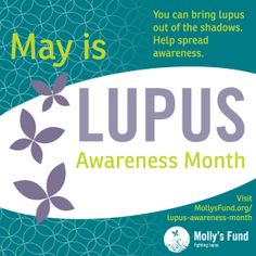 It's Lupus Awareness Month!