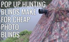 Pop-up Hunting Blinds Also Double as a Great Wildlife Photo Tool!