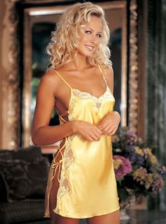 3763 Best Selling Charmeuse and Dyed-To-Match Lace Chemise Our Best Seliing beautiful, elegant charmeuse chemise with dyed to match scalloped lace running down each side accompanied by a sexy lace-up side closure and adjustable straps. http://www.comparestoreprices.co.uk/chemises/3763-best-selling-charmeuse-and-dyed-to-match-lace-chemise.asp