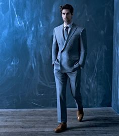 Ralph Lauren suit/ John Lobb shoes