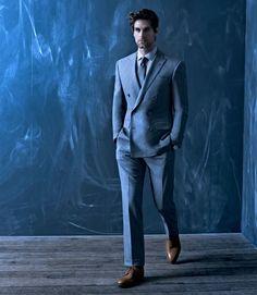 Ralph Lauren suit/ John Lobb shoes