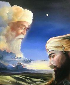 Guru Nanak Ji, Nanak Dev Ji, Sikh Quotes, Gurbani Quotes, Guru Nanak Wallpaper, Golden Temple Amritsar, Guru Pics, Eagle Wallpaper, Lion Photography