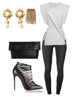 """""""Helia's style theory"""" by heliaamado on Polyvore featuring 7 For All Mankind, Isabel"""