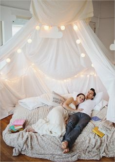 FYWI! Ima make a living room pillow fort for valentines day this year and camp out with my guy. I'll be so pregnant he'll have to pull me in and out of it :D