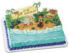Jake and the Neverland Pirates Cake Decorating Set on Etsy, $10.95
