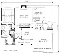 Willow Creek - Home Plans and House Plans by Frank Betz Associates