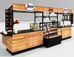 Source Solid wood coffee kiosk with bar counter coffee shop counter design for s… Kiosk Design, Cafe Design, Booth Design, Store Design, Coffee Shop Counter, Bar Counter, Shop Counter Design, Food Cart Design, Coffee Carts