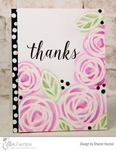 Essentials by Ellen Clear Stamps, Bold Blooms by Julie Ebersole