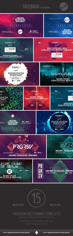 Event Facebook Cover Templates