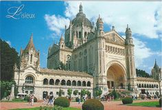 Basilica at Lisieux, France, devoted to St. Therese of Lisieux.