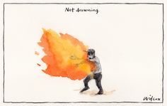 'Not Drowning'   Cathy Wilcox