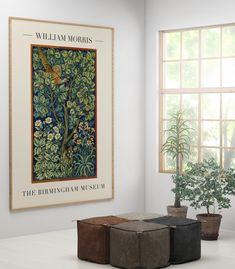 Art Vintage, Vintage Art Prints, Vintage Posters, Fine Art Prints, William Morris, Berlin, Impressions Botaniques, Birmingham Museum, Art Exhibition Posters