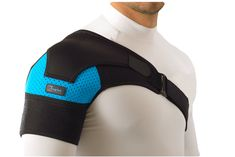 Shoulder compression brace