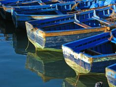 """""""Blue Boats"""" - © Valerie (500px)"""