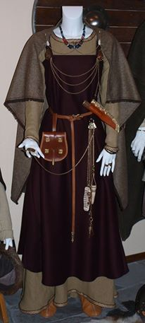 Photo: ladies Viking era garb  by darksuntattoo on deviantart  ~odinsraven