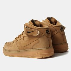 nike nike air force 1 mid 07 prm qs shoes flax £ 94 95 sold out the ....