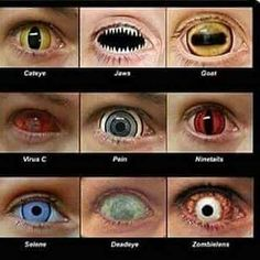 REALLY!!! Pretty Eyes, Cool Eyes, Beautiful Eyes, Fantasy Creatures, Mythical Creatures, Naruto Contact Lenses, Realistic Face Drawing, Rare Eye Colors, Eye Color Chart