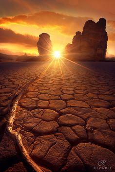 Warm Sunset by Riyadh alTurki on 500px