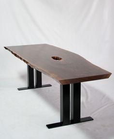 Natural Live Edge Wood Dining Tables   Serving The Greater Seattle Region U2014  Elpisu0026wood
