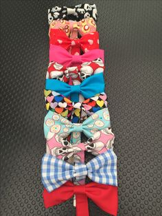 Bow ties- £1 plus postage. Beautifully hand crafted in lots of beautiful fabric options.