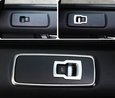 84.15$  Buy here - http://alig3z.worldwells.pw/go.php?t=32447771556 - Matte ABS Chrome interior door armrest window switch Buttons cover 7pcs For Land Rover 4/ LR4 2015 2014 2013 2012 2011 2010