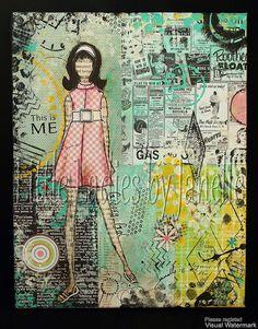 Little Ladies by Janelle Nichol - She Art 2 Workshop - flickr group