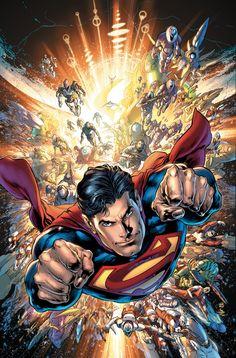 Superman by Ivan Reis, inks by Joe Prado * Mundo Superman, Batman Y Superman, Superman Artwork, Superman Wallpaper, Spiderman, Superman Comic Books, Superman Cosplay, Superman Family, Dc Comics Superheroes
