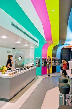 Olo Yogurt Studio by Baker Architecture+Design, Albuquerque store design
