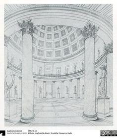 Berlin. Altes Museum am Lustgarten. Ansicht der Rotunde - Das Erbe Schinkels - Der Onlinekatalog - SM 21b.53