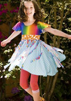 Girls spring dresses from TwirlyGirl.  Watch them twirl!  CLICK HERE.  #girls-spring-dresses