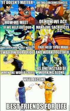 Dragonball Z is most likely one of my favorite things of all time. I don't really care if you think it's dumb. It's something I enjoy and most likely will always enjoy.