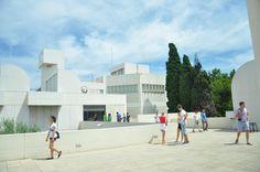 Fundacio Joan Miro (Miros best artworks) - Barcelona, Spain