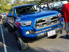 We brought the 2016 to 😎 it was great seeing so many good looking and 👌 Toyota Trucks, Cars And Coffee, Toyota Tacoma, Red Mccombs, How To Look Better, Roads, Pickup Trucks, Road Routes, Toyota Cars