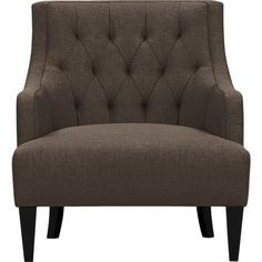 Good looking piece. Tess Chair in Chairs | Crate and Barrel