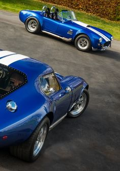 Shelby Daytona Coupe and Cobra 427..Re-pin Brought to you by agents at #HouseofInsurance in #EugeneOregon for #AutoInsurance
