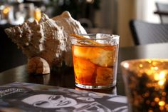 Enjoy an Old Fashioned in Terrazza Lounge at Hotel Casa del Mar - Santa Monica, Calfornia.
