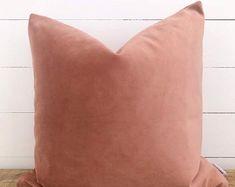 Pink Cushions, Pink Throw Pillows, Velvet Cushions, Cushion Fabric, Plastic Planter, Plastic Pots, Bench Seat Covers, Handmade Cushions, Plant Decor