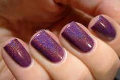 Love. Varnish, chocolate and more...: Swatches & Review - Too Fancy Lacquer The Viola Trio