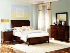 Liberty Furniture Hamilton Sleigh Bedroom 341-BR