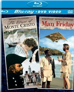The Count of Monte Cristo/Man Friday [2 Discs] [DVD/Blu-ray] [Blu-ray/DVD]
