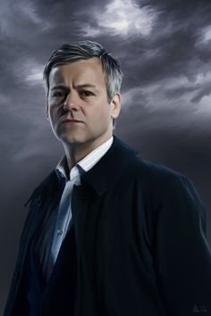 I am continuously amazed at this fandom. I've HATED waiting soooo long for S3, since early last year and still waiting, but the amount of art that has come from the fandom from this wait is extraordinary. Also, the brilliance of the cast, writers, and crew that inspire all this. Wonderful ♥ {Lestrade - Painting by Lasse17.deviantart.com}