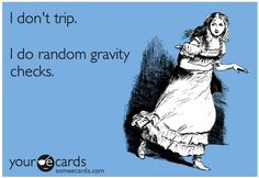 Haha gravity checks!!