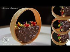 Ferrero Fantasia Dessert – Bruno Albouze – The Real Deal - Dessert - Desserts Fancy Desserts, Gourmet Desserts, Plated Desserts, Dessert Recipes, Candy Recipes, Running Food, Dessert From Scratch, Sweet Dough, Hazelnut Spread