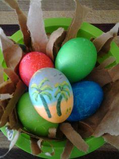 Beach Easter Egg