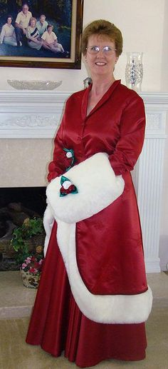 My Mrs. Claus outfit inspired from the movie White Christmas.