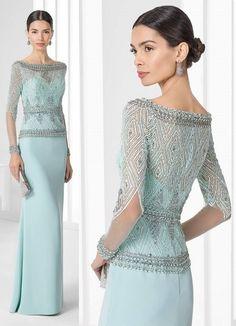 221 vestido para mae da noiva longo azul