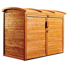 5 Ft. W X 3 Ft. D Refuse Wood Storage Shed
