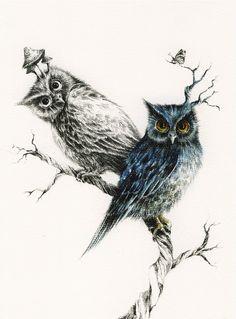 ~Courtney Brisbane tarafından illüstrasyonlar. http://www.mozzarte.com/sanat/courtney-brisbane-tarafindan-illustrasyonlar/ …